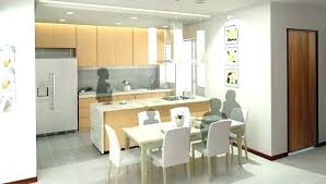 living room partition dividing wall between kitchen and living room unbelievable kitchen