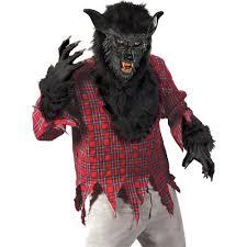 werewolf halloween costumes black werewolf costume