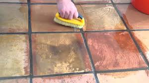 professional saltillo tile cleaning services and refinishing demo