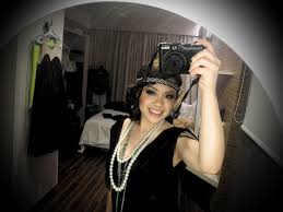 how to make a 1920s hairpiece jillian undercover tutorial quick and easy 1920 s flapper dress