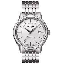 tissot men u0027s t0854071101100 u0027t classic powermatic u0027 automatic watch