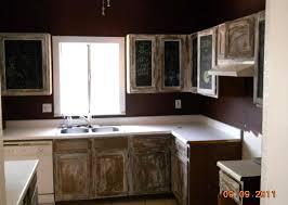 ugly dumb stupid kitchen cabinets paint treatment chalkboard