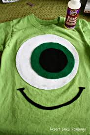 cute halloween shirts for women diy monsters university costumes diy shirt sully and monsters
