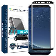 amazon com samsung galaxy s8 plus glass screen protector from