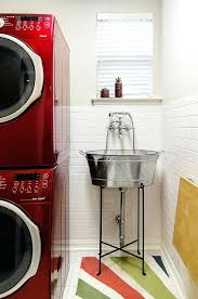 galvanized tub kitchen sink galvanized tub sink by willow decor image result for laundry room