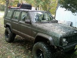 mud jeep cherokee tire on roof and mud jeep cherokee forum