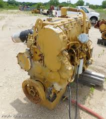 caterpillar 3406 six cylinder turbo diesel engine core ite