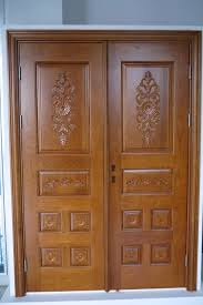 Wood Double Doors Design
