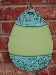Easter Egg Door Decorations by 71 Best Wooden Door Hangers Easter Images On Pinterest Wooden