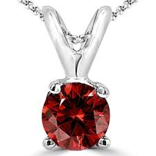 diamond necklace red images Red diamond necklace bijoux majesty jpg
