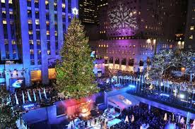 when is the christmas tree lighting in nyc 2017 thousands gather for nyc christmas tree lighting