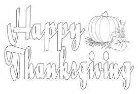 sign thanksgiving coloring pages festival collections