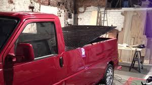 subaru pickup conversion t4 transporter pickup conversion rear lift youtube