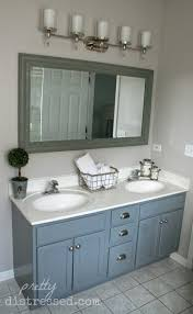 Paint Bathroom Vanity Ideas Painting Bathroom Vanity Before And After With Chalk Paint Makeup
