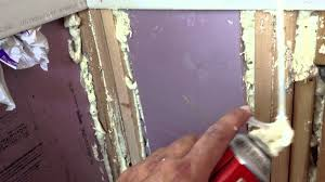 Spray Insulation For Basement Walls Rigid Foam Insulation For Remote Cabin Use Sealed With Spray Foam