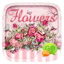 flower pro go sms pro flowers theme android apps on play