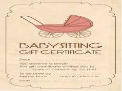 free printable gift certificates template printable gift