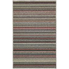 Berber Throw Rugs Striped Berber Area Rug 7 U0027x12 U0027 610415371