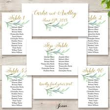 how to make table seating cards table seating cards greenery wedding seating cards to make