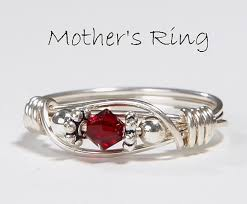 silver mothers ring 25 mothers birthstone rings tropicaltanning info