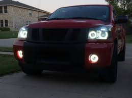 nissan frontier halo headlights 08 titan halo headlights wallpaper
