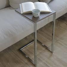 plateau de canapé table d appoint avec plateau carré tower arredaclick