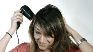 female haircutting videos clipper side view of client haircut with clipper stock footage video