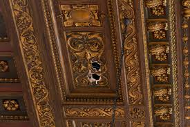 electrician damages new 12m ceiling at new york public library