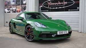 porsche dark green my porsche cayman wrapped in green youtube