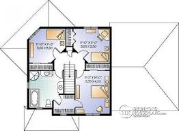 3 Bedroom Open Floor House Plans House Plan W2747 V1 Detail From Drummondhouseplans Com