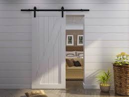 diy barn door track system bedroom contemporary sliding french barn doors bath remodelers
