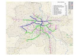 Bahadurgarh Metro Map by Route Map Of Dmrc Phase 3 2017 2018 Student Forum