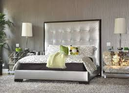 Black Mirrored Bedroom Furniture by Mirrored Bedroom Set Furniture Small Drawer On Black Wooden Floor