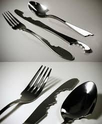 bite silverware kitchen utencils serving set pinterest