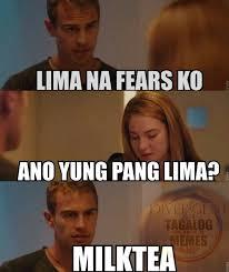 Meme Photos Tagalog - divergent tagalog memes home facebook