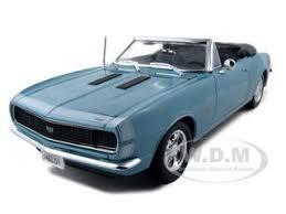 1967 camaro diecast chevrolet camaro ss 396 convertible turquoise 1 18 diecast model