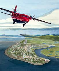commissioned painting of a ryan air casa 212 departing unalakleet alaska ryan air is an alaska native owned airline operating in alaska managed by the