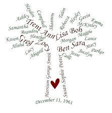 vinyl family tree vinyl expressions family sayings and word