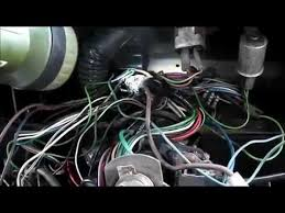 land rover series 3 re wire part 1 youtube