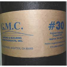 shop gmc 36 in x 72 ft 216 sq ft tar paper roof underlayment at