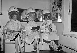 old fashinoned hairdressers and there salon potos vintage hair styling tips europeana blog