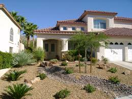 desert landscaping ideas for front yard pink paper