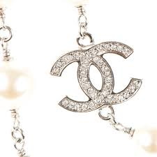 long silver crystal necklace images Chanel crystal pearl cc long necklace silver 175252 jpg