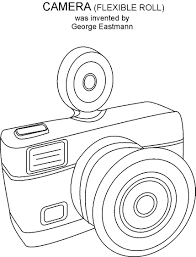 aeroplane coloring printable camera coloring printable page