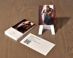 Graphic Artist Business Card Easel Business Cards