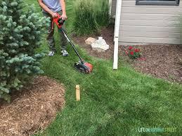 Grass Roots Landscaping by Best 20 Lawn Edger Ideas On Pinterest Garden Edging Flower Bed