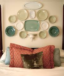 34 diy headboard ideas diy a beafutiful headboard from plates