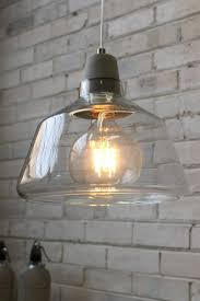 concrete top glass lights scandinavian style with industrial