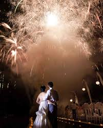 amazing fireworks and sparklers from real weddings martha