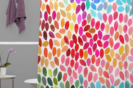 Bright Shower Curtain Solid Bright Colored Shower Curtains Shower Curtain